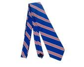 Vintage 80s Tie - Brooks Brothers - 80s Brooks Brothers - Brooks Brothers Necktie - Brooks Brothers Tie - Gray Red Blue - Striped Silk Tie