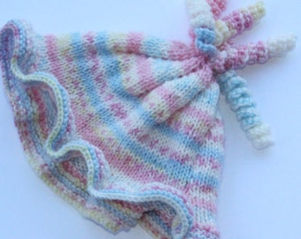 Baby Knitted Cap Pastel Colors