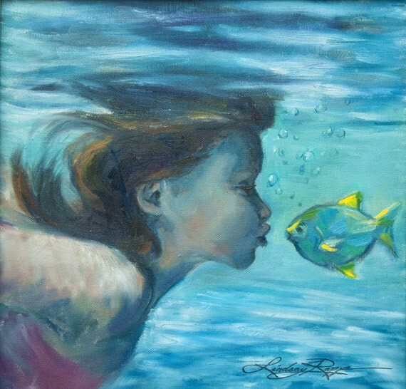 Fishy Lips ~ Original Painting