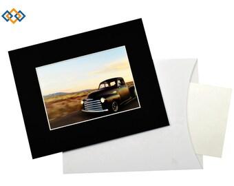 Custom 8x10 Slip-In Mat - (WHITE CORE) Slip-In Photo Mats