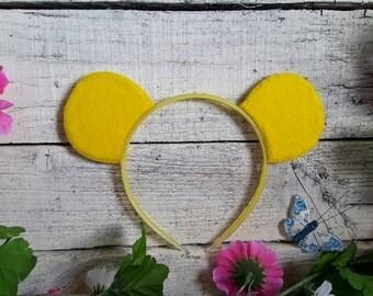 Pooh Bear Mickey ears