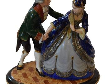 1929 German Porcelain Figurine by Fraureuth
