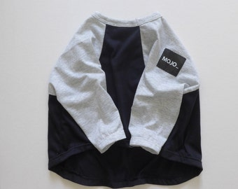 Dog clothes in reglan style
