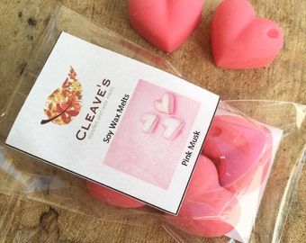Pink Musk Scented Soy Wax Melts
