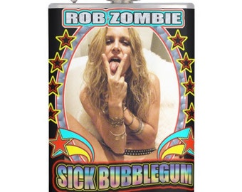 Sheri Moon Zombie Rob Zombie Sick Bubblegum Flask
