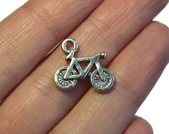 bicycle charm, bicycle pendant, bike charm, bicycle jewellery, cycling charm