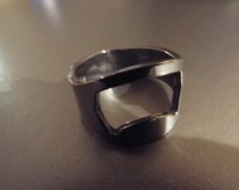 Stainless Steel Ring & Bottle Opener