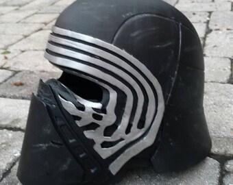 3D Printed Kylo Ren helmet