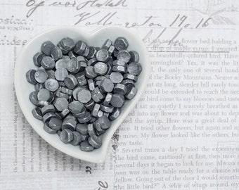 Silver Sealing Wax Beads