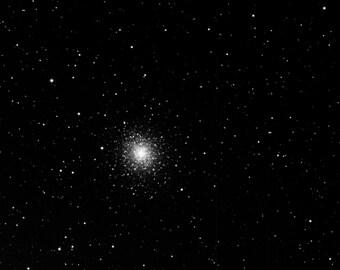 Astrophoto, Globular Cluster - M92 - Digital Download