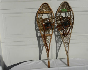 vintage snow - shoes  Amerindiens  Quebec
