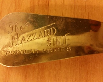 "Antique ""Hazzard"" Shoehorn"