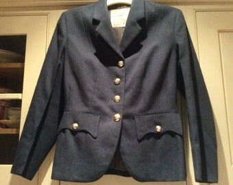 Blue women's RAF no 1 dress jacket petite