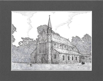 St Saviour's Church, Ringley, Lancashire.