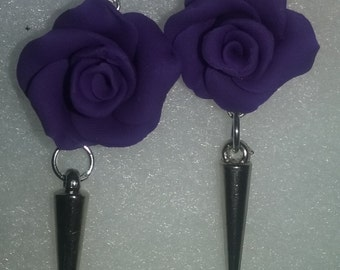 Rose and should earring