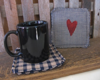 Homespun Mug Mats
