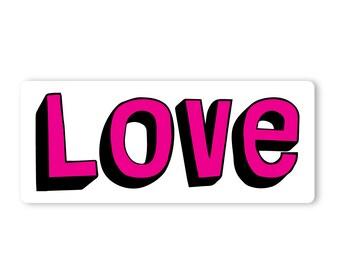 Valentine's Day Love (12 in x 5 in)