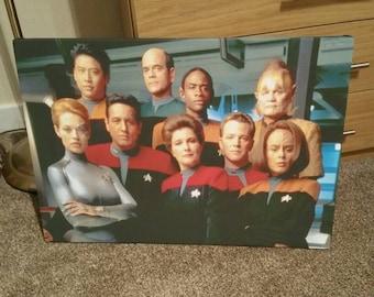 Star Trek Voyager Canvas