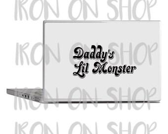 Harley Quinn Daddy's Lil Monster Vinyl Decal