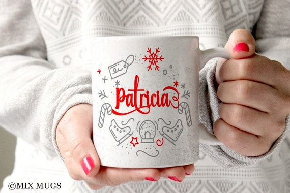 Personalized Holiday Mug