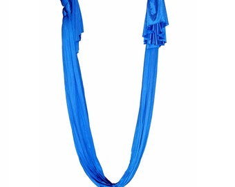 Aerial Yoga Hammock, Royal Blue FREE SHippin in USA, (Multiple Colors Available)
