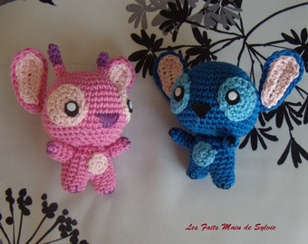 Stitch and Angel crochet