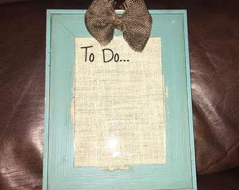"""Beautiful Magnetic Rustic """"To Do"""" List"""