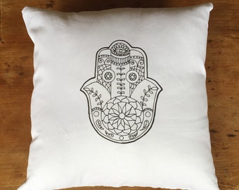 Hamsa Hand Cushion
