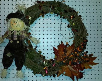 "19"" Fall Wreath"