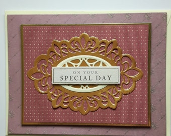 Beautiful Downton Abbey Vintage Handmade Greetings Cards