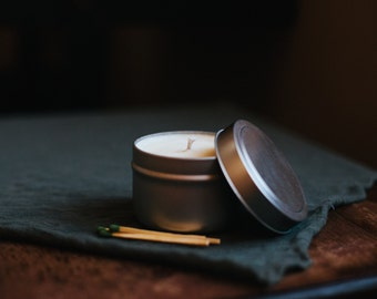 4 oz Soy Candle in Tin