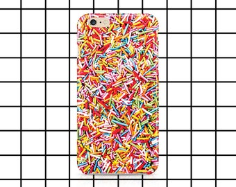 Sprinkles iPhone 5 / 5c / 6 / 6s Plus case - funny tshirt - Hipster - Cute - Tumblr - meme shirt - hundreds and thousands - phone case