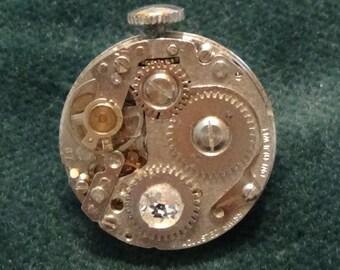 Tie Tack/Lapel Pin/Hat Pin, Free U.S. Shipping, Swarovski Crystal
