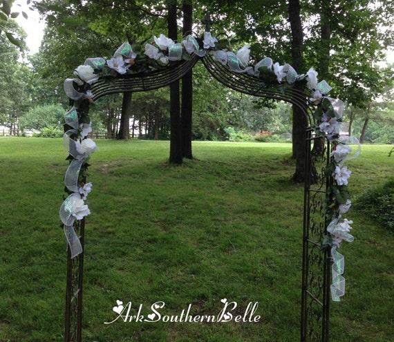 Wedding Altar Garland: Wedding ARCH GARLAND Wedding Gazebo Garland Silk Flower