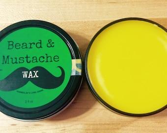 Beard & Mustache Wax - Organic - Cedar Wood