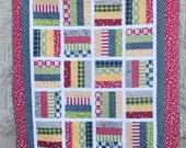 SALE Lucky Toss Quilt Pattern-PDF