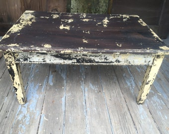 1800's Wood Coffee Table