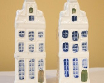 Ceramic Dutch Houses (2) Heerengracht-91 Amsterdam