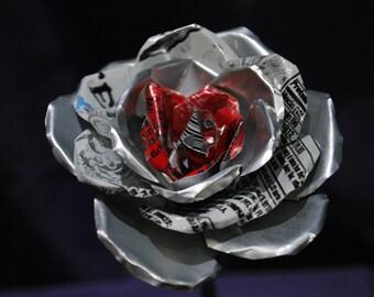 Aluminum Can Rose