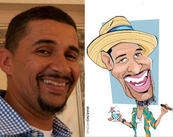 Custom Handmade Color Caricatures