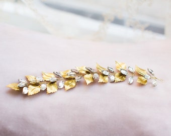 Bridal Decorative  Hairpiece with Crystals