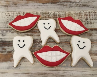 Dentist Cookies (1 dozen)