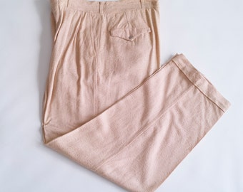 50's pink slacks