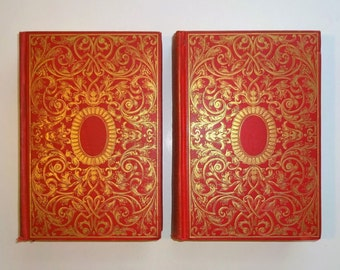 c. 1890's LORNA DOONE by R.D. Blackmore, Illustrated, 2 Volumes Complete