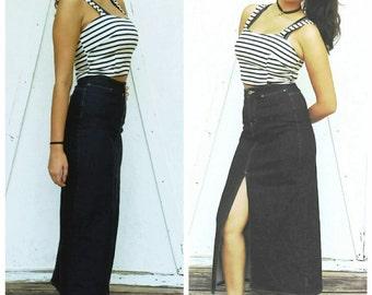 Vintage GAP denim skirt High Waist Pencil jean