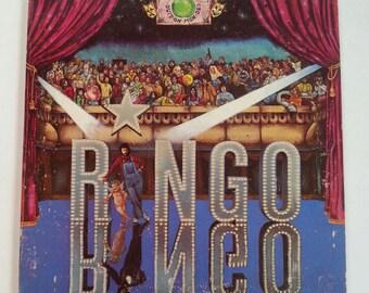 Vintage Record Album Beatles Ringo 1973