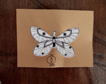 butterly pin