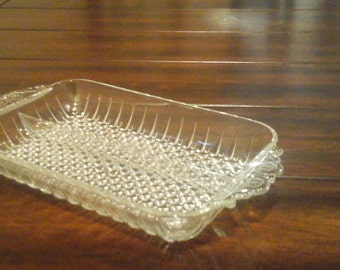 Pressed Glass Dish