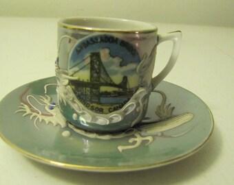 Dragon tea Cup and Saucer