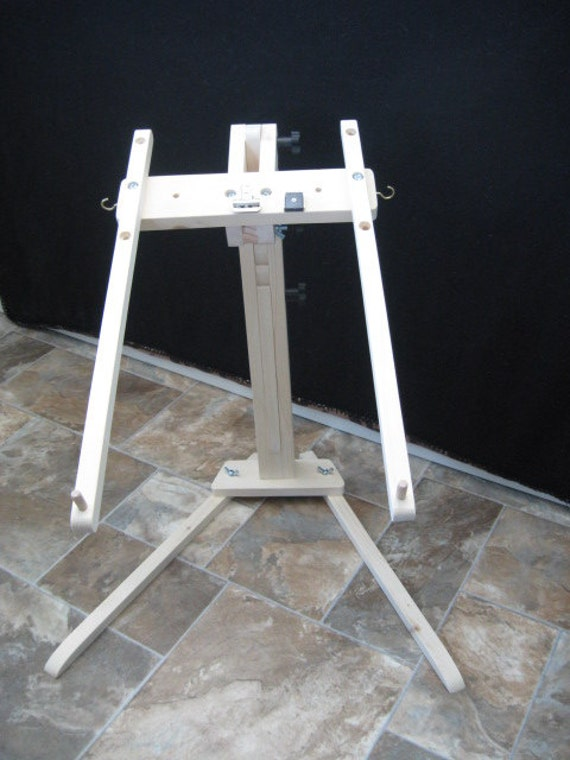 Needlework Floor Stand With Storage Travel Bag By